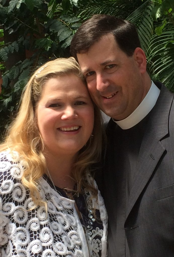 Pastor Andrew and wife, Monique