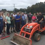 Many hands contribute to successful improvements on the Shepherd's Little Flock campus.