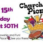 Church Picnic June 15, 2019