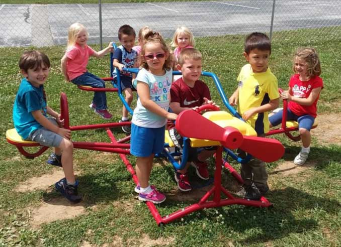 Thank you from SHEPHERD'S LITTLE FLOCK DAYCARE we are enjoying the teeter-totter