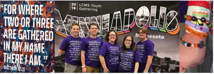 Shepherd of the Hills Youth at 2019 Youth confernces
