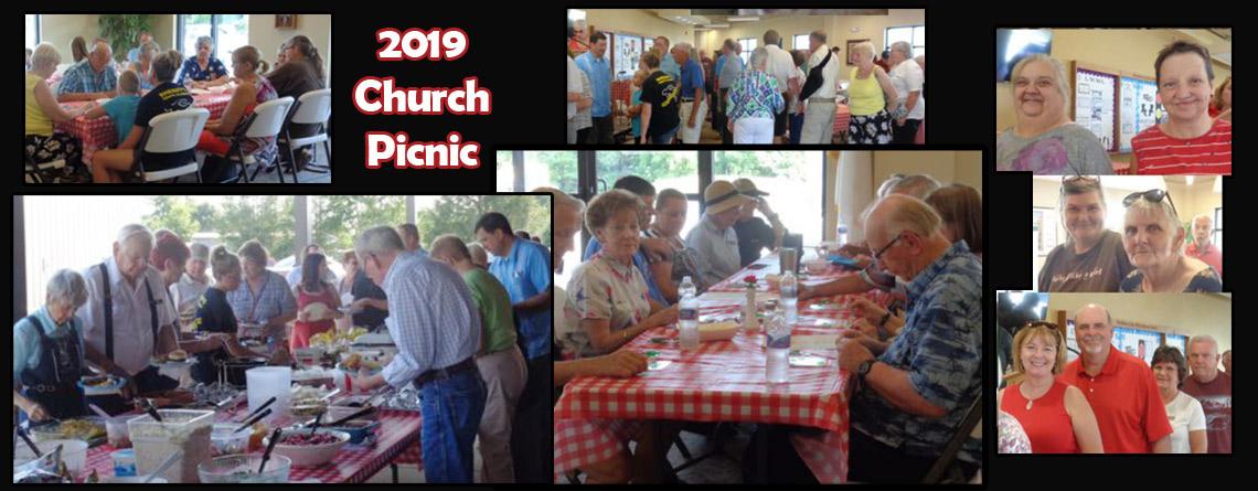 Church Picnic update 2019