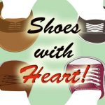 shoes with heart