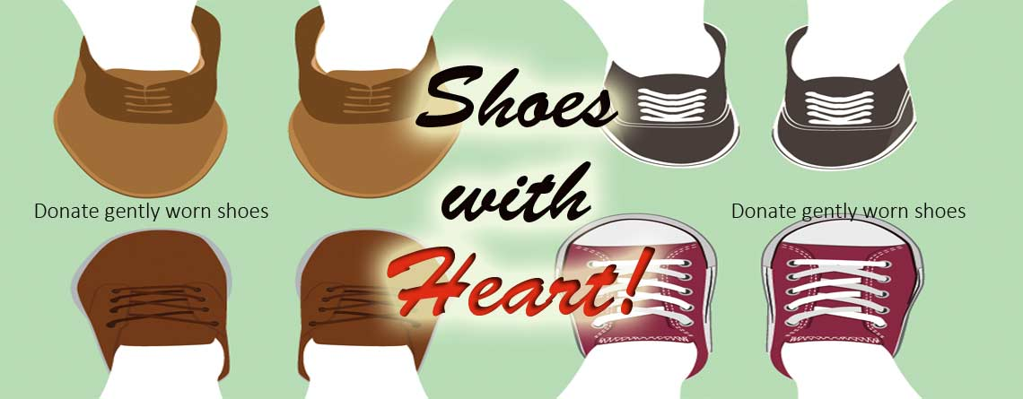 Shoes with Heart Drive