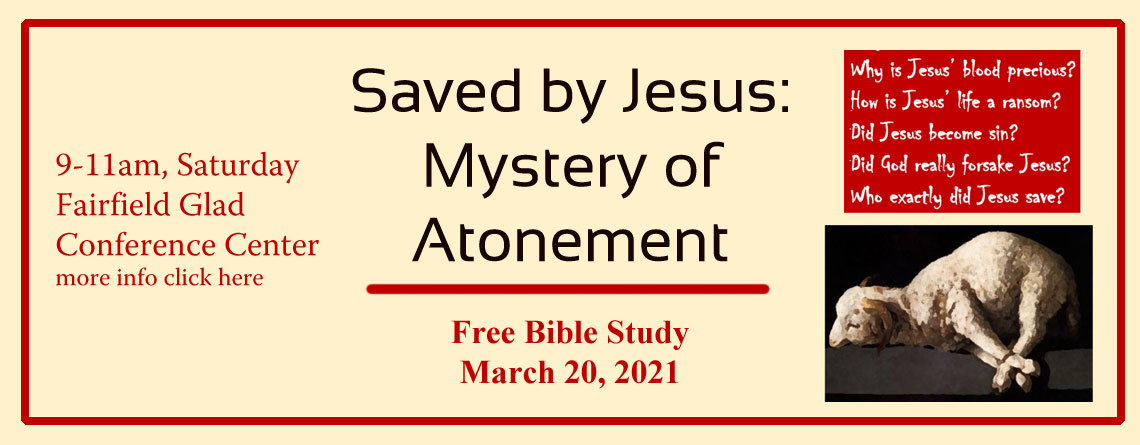 Free Bible Study-The Mystery of Atonement