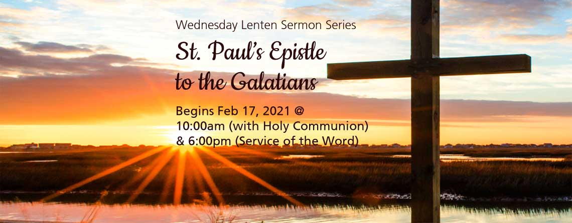 Lenten Sermon Series – 2021